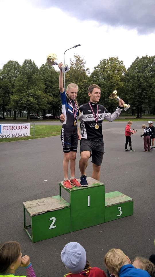 10km Latvijas čempioni skrituļslidošanā, 2016