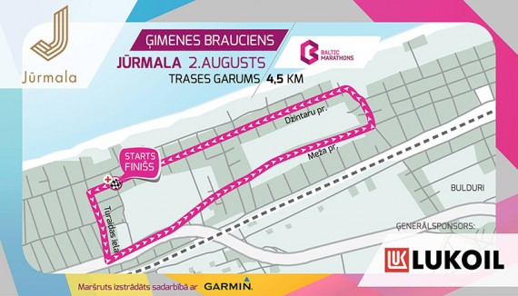 Baltic Marathons ģimenes distance