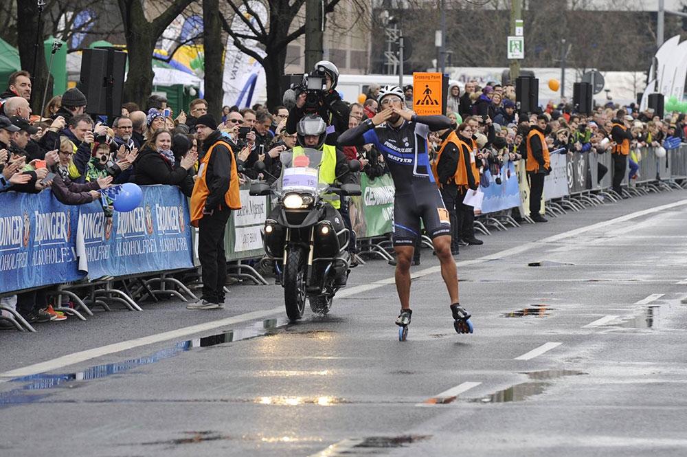 Felix Rijhnen wins Berlin half marathon 2015