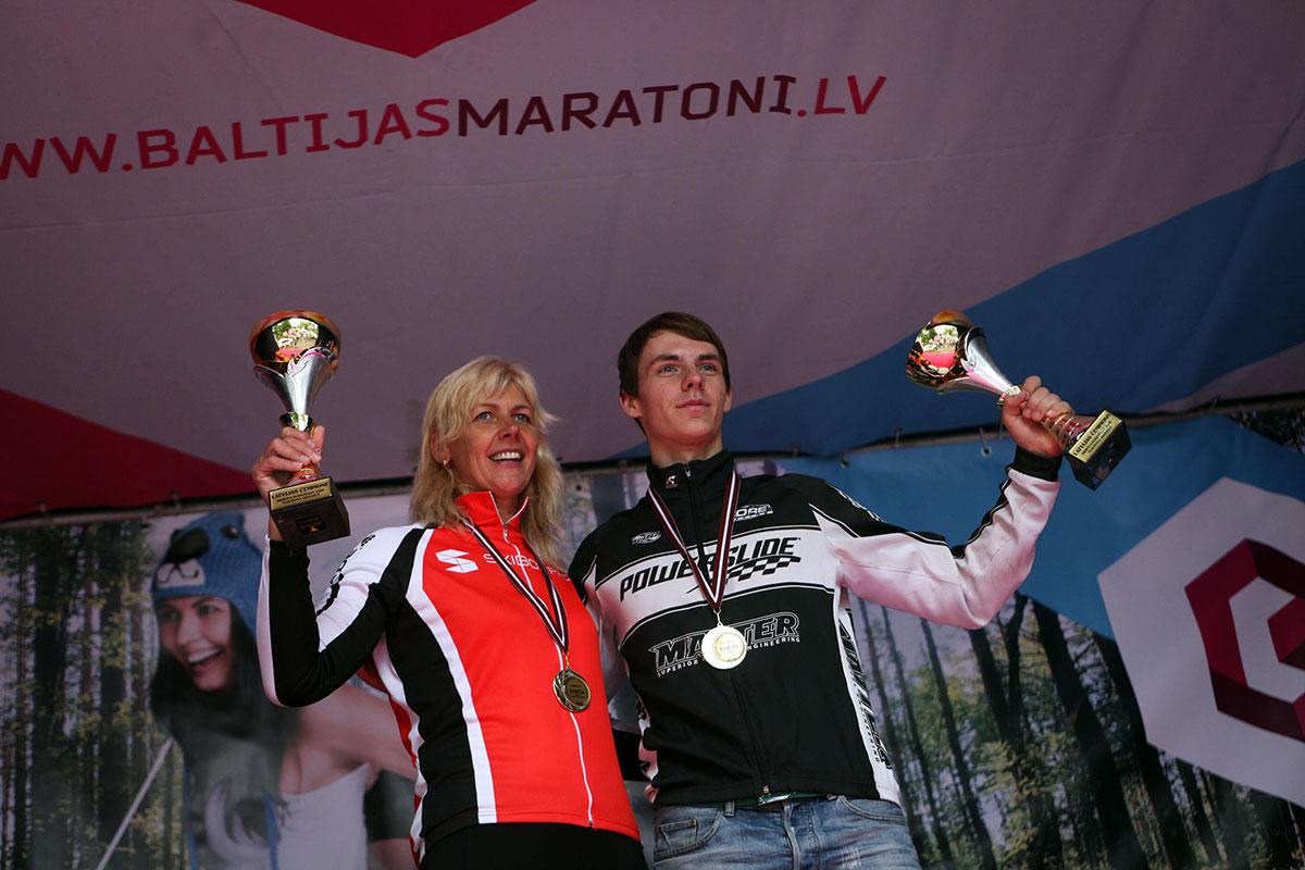Latvijas skrituļslidošanas čempioni 2016