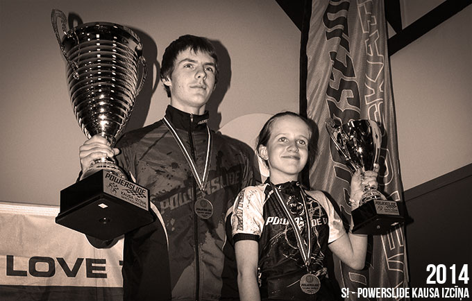 S! - Powerslide kausa izcīņas 2014 uzvarētāji